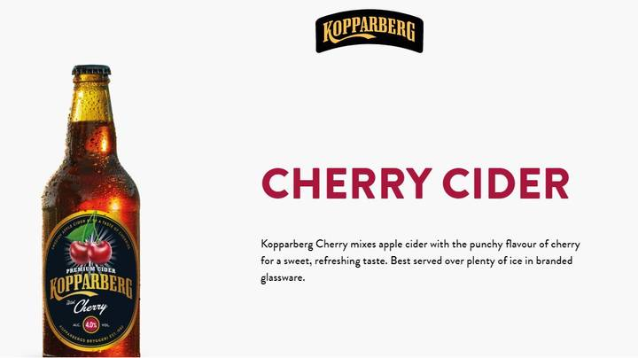Kopparberg Announces New Cherry Flavour And It Will Be Available In February