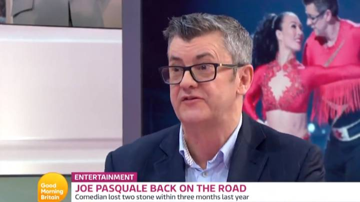 Joe Pasquale Explains Why And How He Decided To Get Into Shape