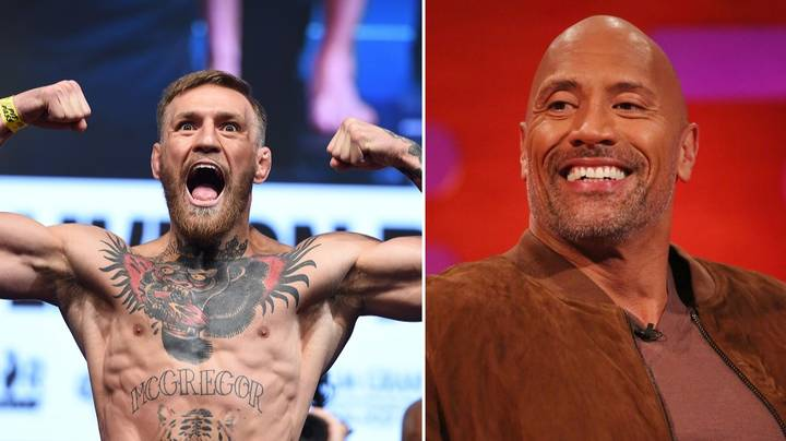 The Rock Praises Conor McGregor For Being A 'Hard Worker' And 'Smart Businessman'