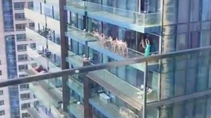 Group Of Women Arrested After Posing Naked On Dubai Balcony