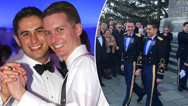 Two US Army Captains Have Become The First Same-Sex Couple To Marry At The Army Base Where They Met