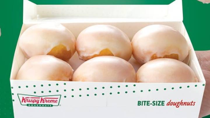 Krispy Kreme Australia Has Launched Bite-Sized Original Glazed Doughnut Balls