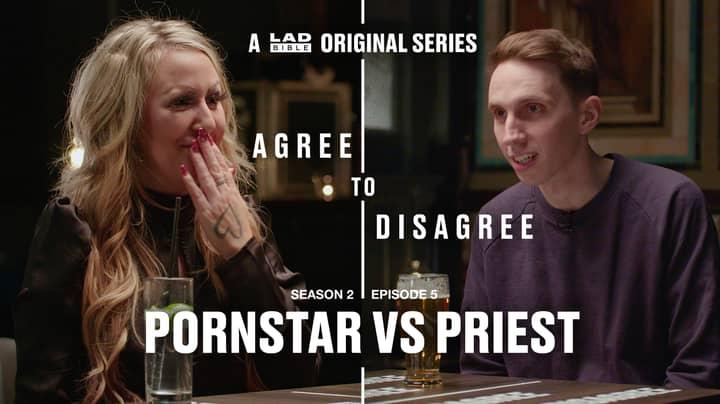LADbible's Agree To Disagree: Porn Star Vs Priest