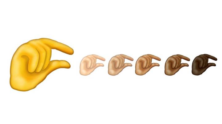 The 'Pinching Hand' Emoji Has Been Unveiled And Everyone Is Saying The Same Thing