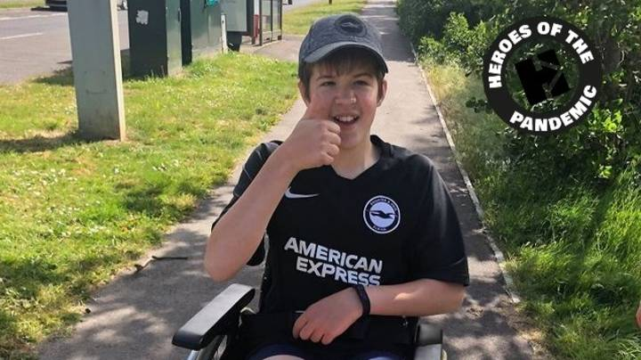 Autistic Teen With Spina Bifida Raises £3,000 With Week Of Walks