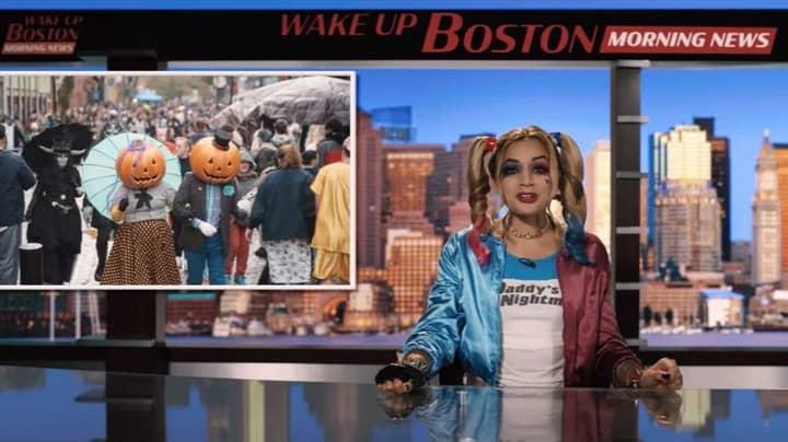 Adam Sandler Flick Hubie Halloween Gets News Anchor Fired From Her Job