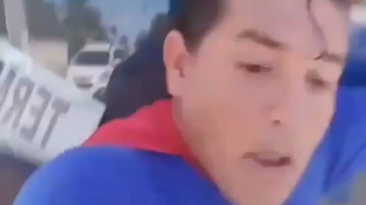 Comedian Dressed As Superman Hit By Bus While Pretending To Stop It