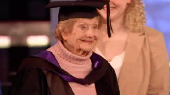 Grandmother Gets Her Masters At The Ripe Old Age Of 90