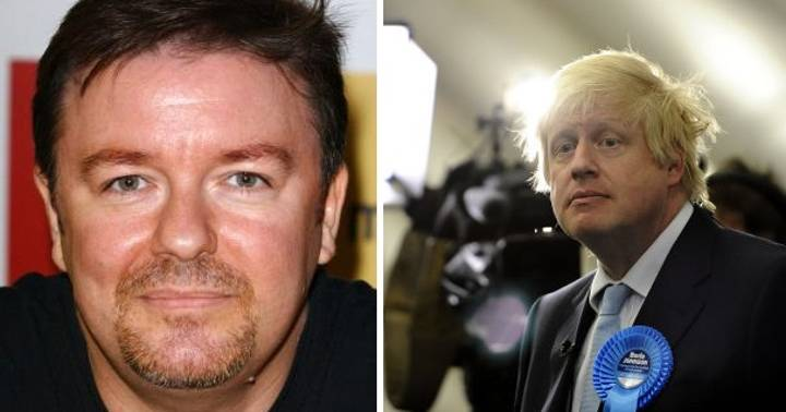 Ricky Gervais Sums Up Public's Mood About Boris Johnson's Foreign Secretary Appointment