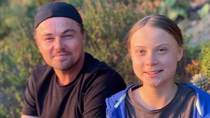 Leonardo DiCaprio Meets Greta Thunberg, Says She Is 'A Leader Of Our Time'