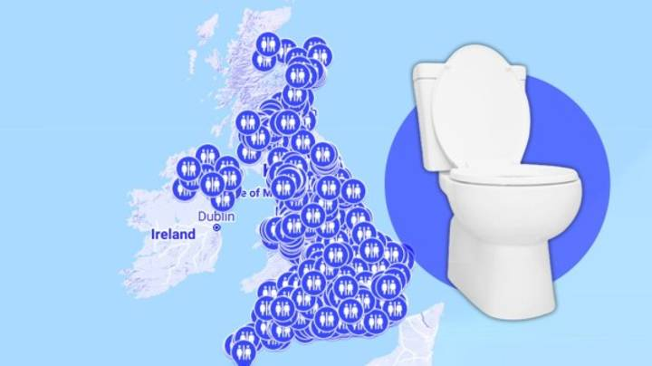 Two Brothers Have Created A Map Showing Britain's Open Public Toilets