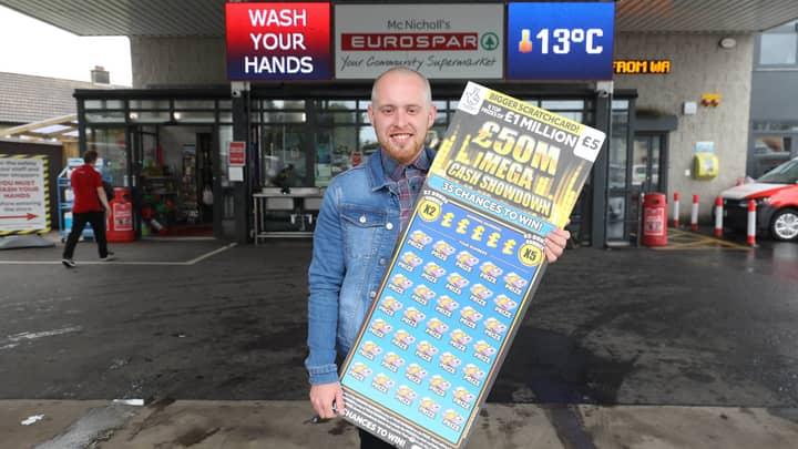 Supermarket Manager Wins £1m Off £5 Scratchcard But Won't Quit His Job