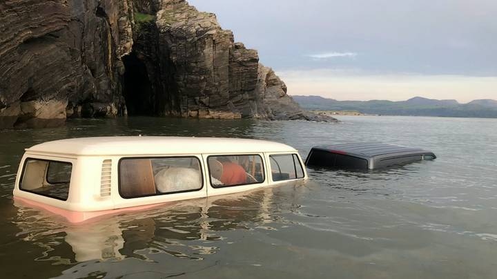Woman's £60,000 VW Camper Swallowed Up By Tide