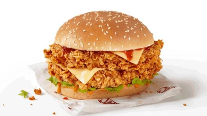 KFC Is Selling Half Price Zinger Stacker Burgers This Weekend