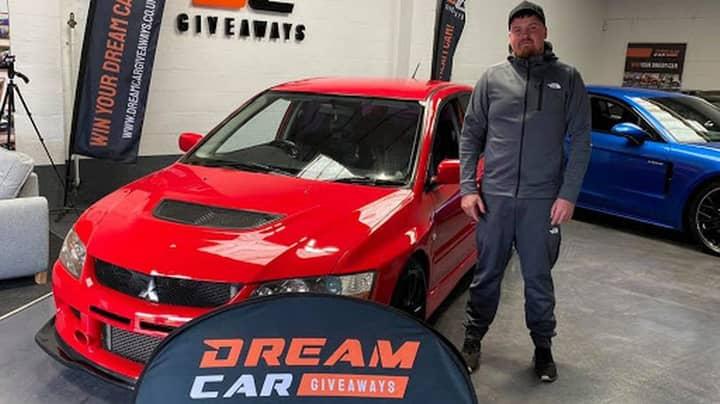Man Writes Off £30,000 Mitsubishi Sports Car Two Days After Winning It