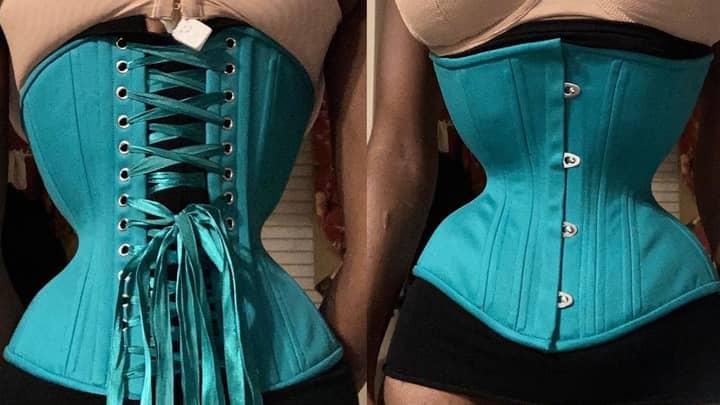 Australian Woman Spends Two Years 'Corset Training' Her Waist