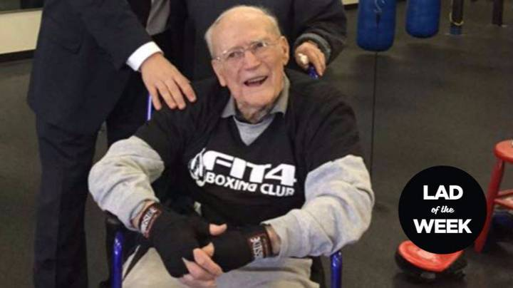 88-Year-Old Lad Is Fighting Off Parkinson's Disease By Boxing