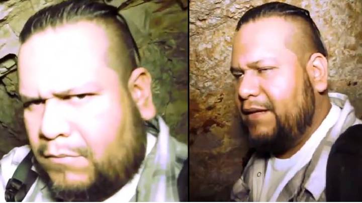 Petrified Ghost Hunter Throws Up After Coming Face-To-Face With 'Tommyknocker Ghoul'