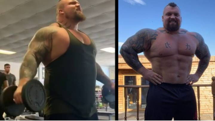 Eddie Hall Shares Weight Loss Transformation After Shedding 25kg