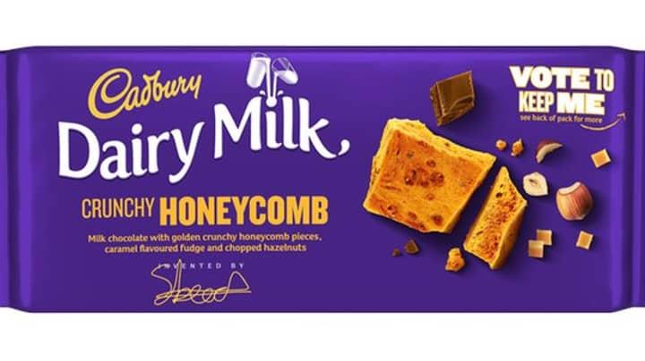 Cadbury Announces The Return Of Its Crunchy Honeycomb Bar