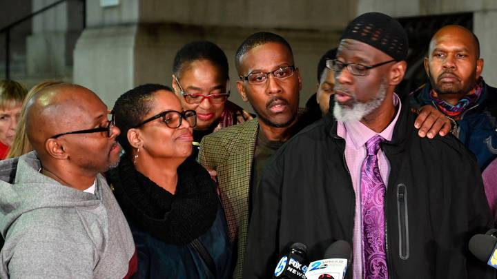 Three Men Released After Being Wrongfully Jailed For School Shooting 36 Years Ago As Court Blames 'Police Misconduct'