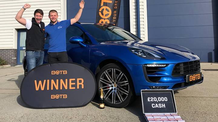 Guy Wins Second Porsche Two Days After Selling First One For House Deposit