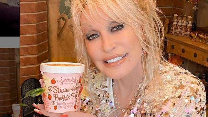 Dolly Parton's Limited Edition Ice Cream Is On eBay Selling For $1,000