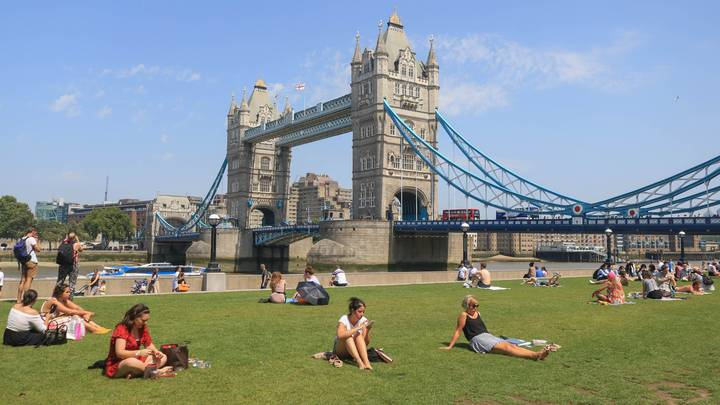 This Weekend's Bank Holiday Could Be The Start Of Summer At Last With Temperatures Of Up To 25°C
