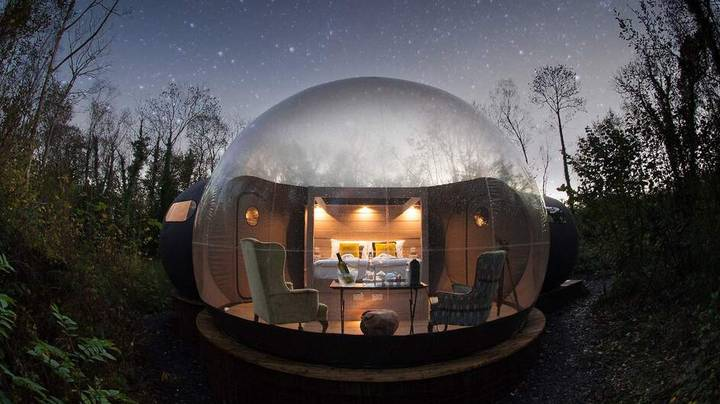 Live Out Your Woodland Fantasy By Staying In These Breathtaking Bubble Domes In Fermanagh