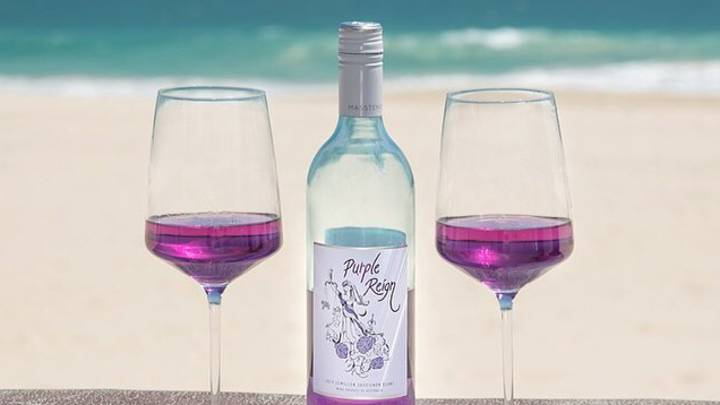 Australian Winery Makes World's First Ever Naturally Purple Wine