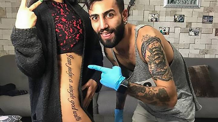 Instagram Model Becomes Laughing Stock With Badly Translated Tattoo