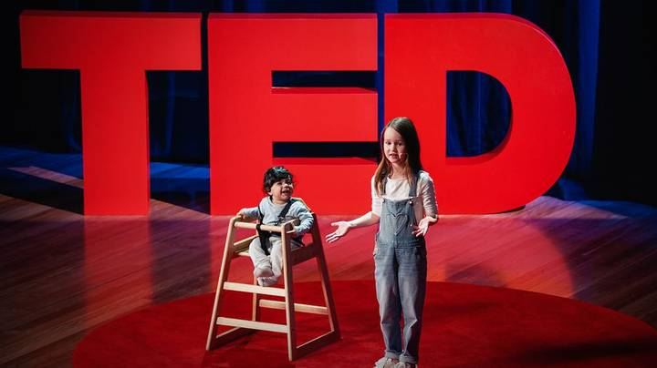 Seven-Year-Old Gives TED Talk On How To Help Five-Year-Olds