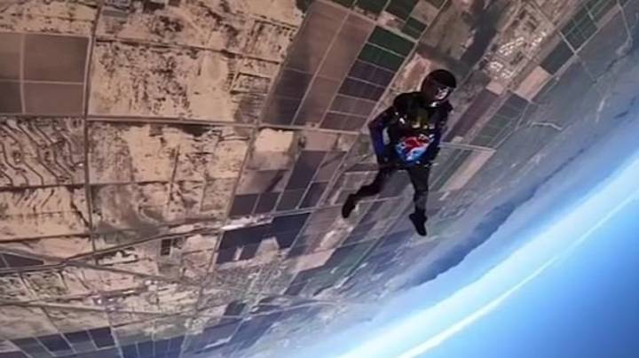 Skydiver's iPhone Survives 10,000 Foot Fall After Falling Out During Jump