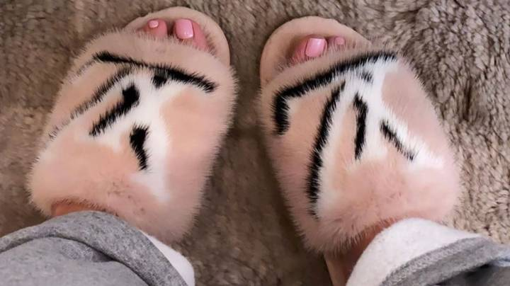 Kylie Jenner Branded 'Hypocrite' For Sharing Snap Of Mink Slippers After Mourning Australian Animals