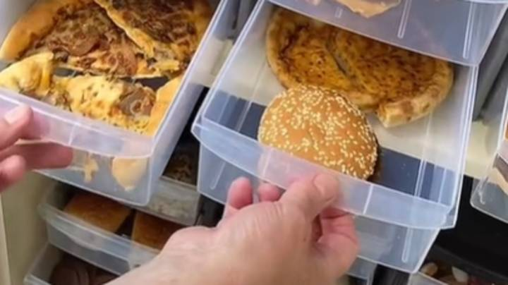 Mum Stores McDonald's And Pizza For Two Years To Prove Takeaways 'Never Go Off'