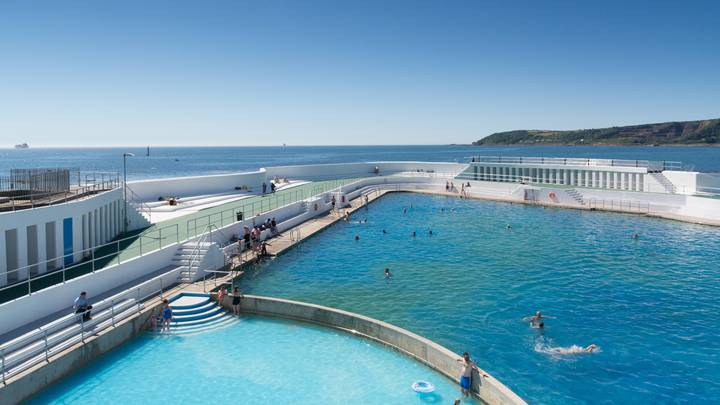 UK's First Geothermal Lido Opens In Cornwall