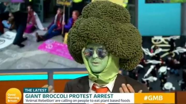 Extinction Rebellion Protester Mr Broccoli Interviewed By Piers Morgan