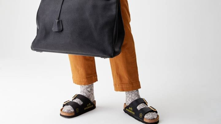 Company Is Flogging $100,000 Birkenstocks Made From Hermès Birkin Bags