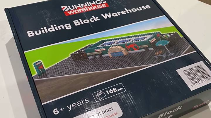 Bunnings Releases Lego-Style Set So You Can Have Your Very Own Warehouse