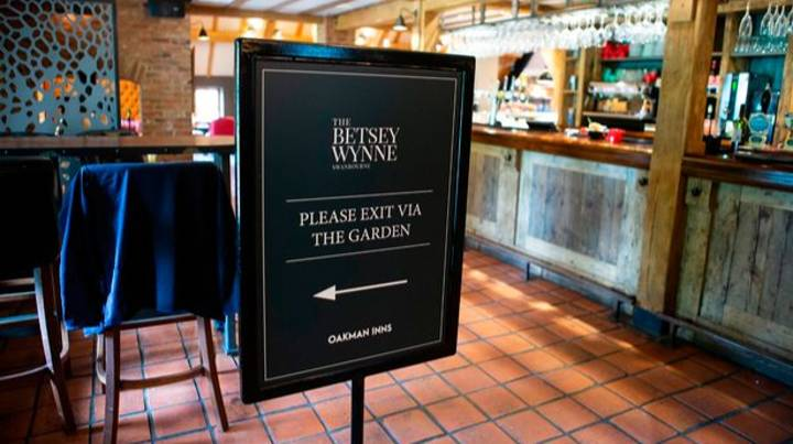 Pub Chain Claims It's Figured Out How To Open After Lockdown