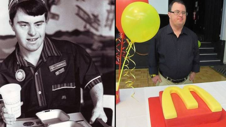 McDonald's Worker With Down's Syndrome Retires After 32 Years At Restaurant