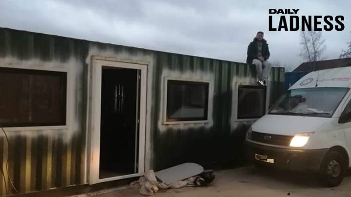 Reformed Criminal Building Homes Out Of Shipping Containers To Help Homeless