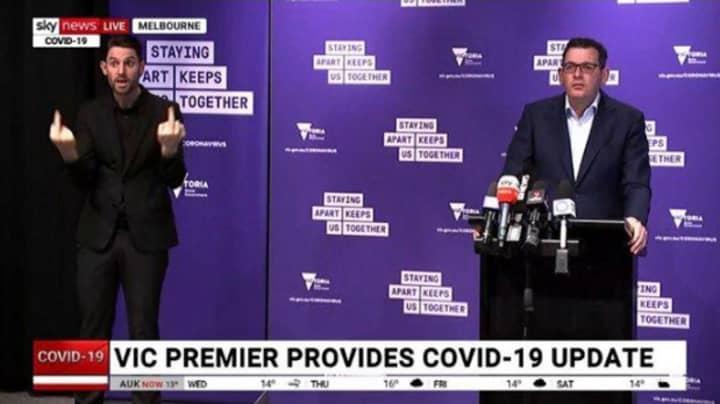 AUSLAN Interpreter For Victorian Premier Daniel Andrews Becomes Social Media Sensation