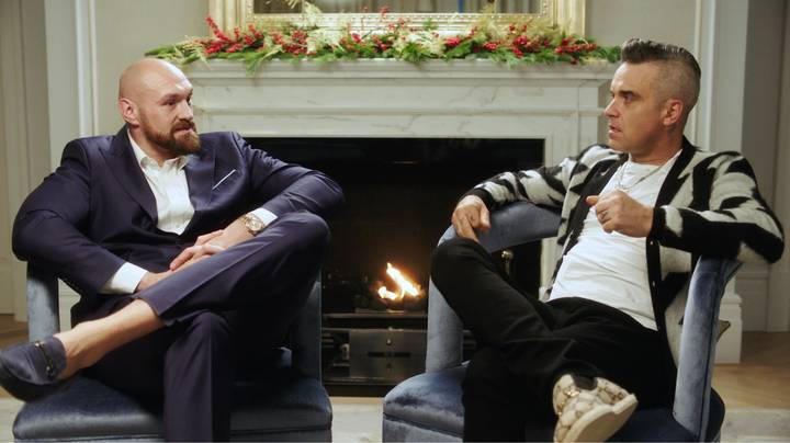 Robbie Williams And Tyson Fury Discuss Their Lowest Moments