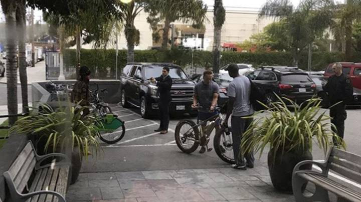Security Guard Stops Man 'Trying To Steal Arnold Schwarzenegger's Bike'