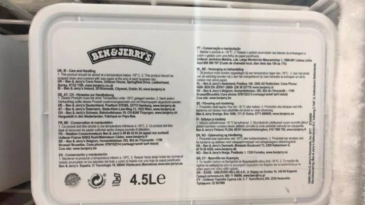 You Can Now Buy Giant 4.5 Litre Tubs Of Ben & Jerry's Ice Cream For Just £3.50
