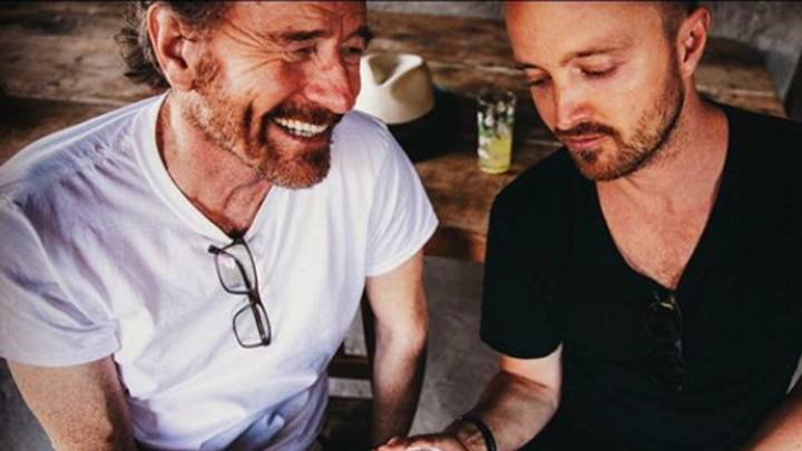 Breaking Bad's Bryan Cranston And Aaron Paul Just Launched Their Own Mezcal