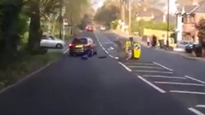 Little Boy Smashes Into Car... But Who Is To Blame?