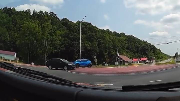Drivers Have Absolutely No Idea How To Use Roundabout In Viral Footage
