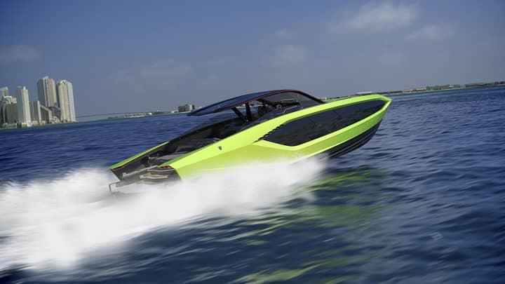 Lamborghini Partners With Boat Maker To Create $3.4 Million Yacht